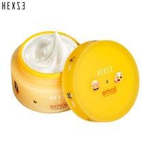 HEXZE X Emoji® Lightening Makeup Primer Cream Whitening Brightening Flawless Makeup Base Mild Blend Lazy Cream Pores