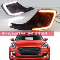 For Suzuki Swift 2017 2019 12V Car Daytime Running Light Car Turn Signal Fog Lights Car Refit Lights