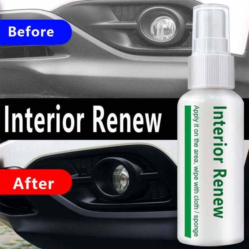 Balight Auto Refurbished Middel Interieur Trim Lederen Plastic Zorg Onderhoud Cleaner 10/20/50ml