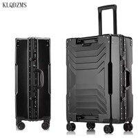 KLQDZMS 20''24''26''29 Zoll PC Mode Trolley Gepäck Tasche ABS Luxus Business Reisetasche Junge Menschen Innovative Gepäck
