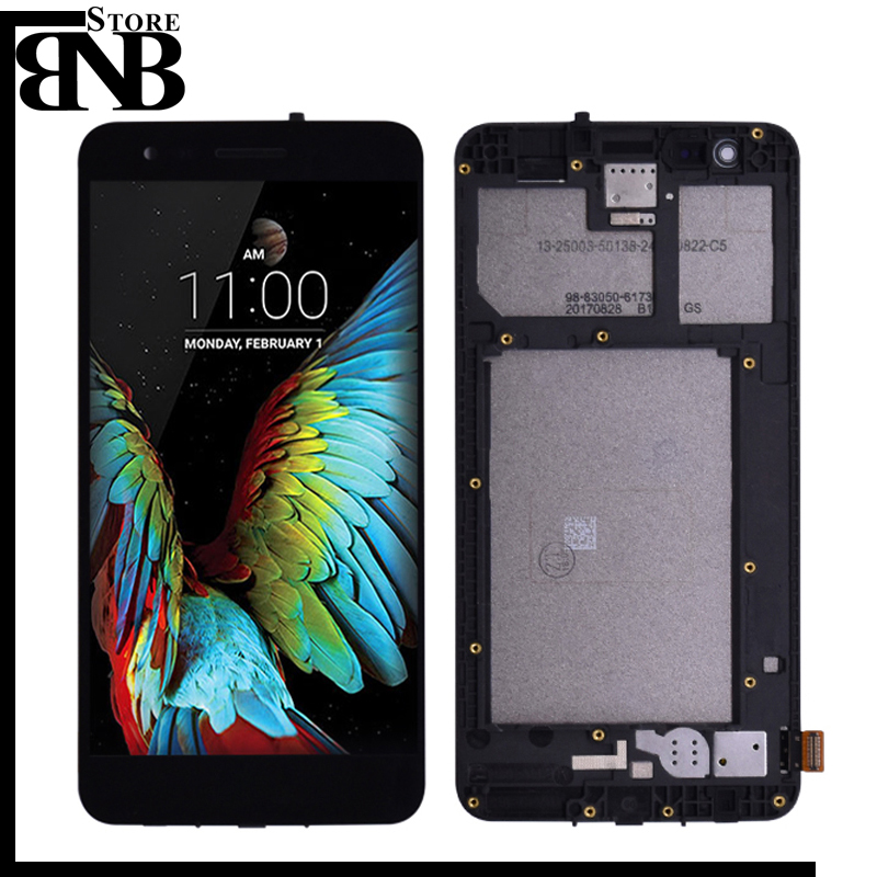 For <font><b>LG</b></font> K7 2017 <font><b>X230</b></font> X230i X230K <font><b>LCD</b></font> Display Touch Screen Digitizer with Frame Assembly or <font><b>LCD</b></font> No frame for K4 2017 <font><b>LCD</b></font> display image