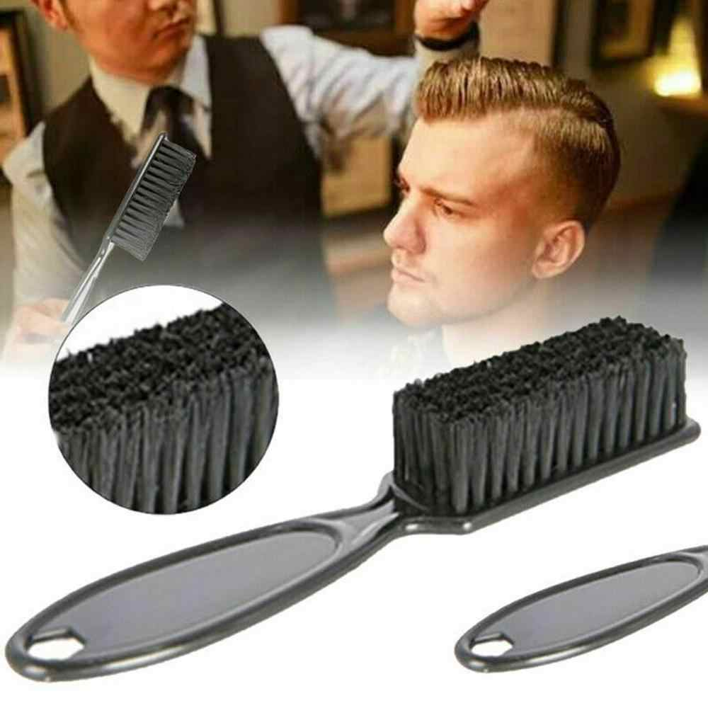 Plastic Handle Hairdressing Soft Hair Cleaning Brush Barber Neck Duster Broken Hair Remove Comb Hair Styling Tools DIY Home