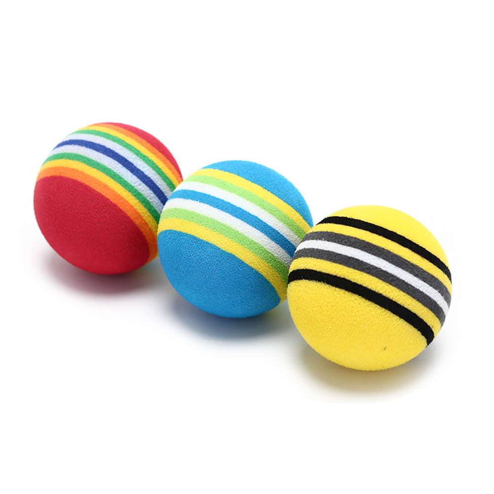Ball Rainbow Practice Colorful 10pieces-Set Urethane title=