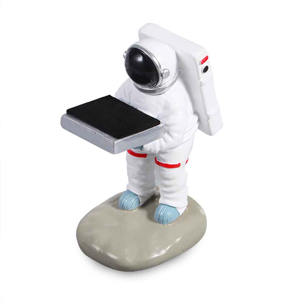 Resin Antique Astronaut Shape Handmade Single Jewelry Organizer Watch Display Stand Ring Earrings Old Housekeeper Storage Holder