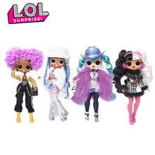 Original LOL Surprise Dolls Toys Winter Disco OMG Series Beauty Fashion Model Doll DIY Manual Blind Box Toy for Girl Gift
