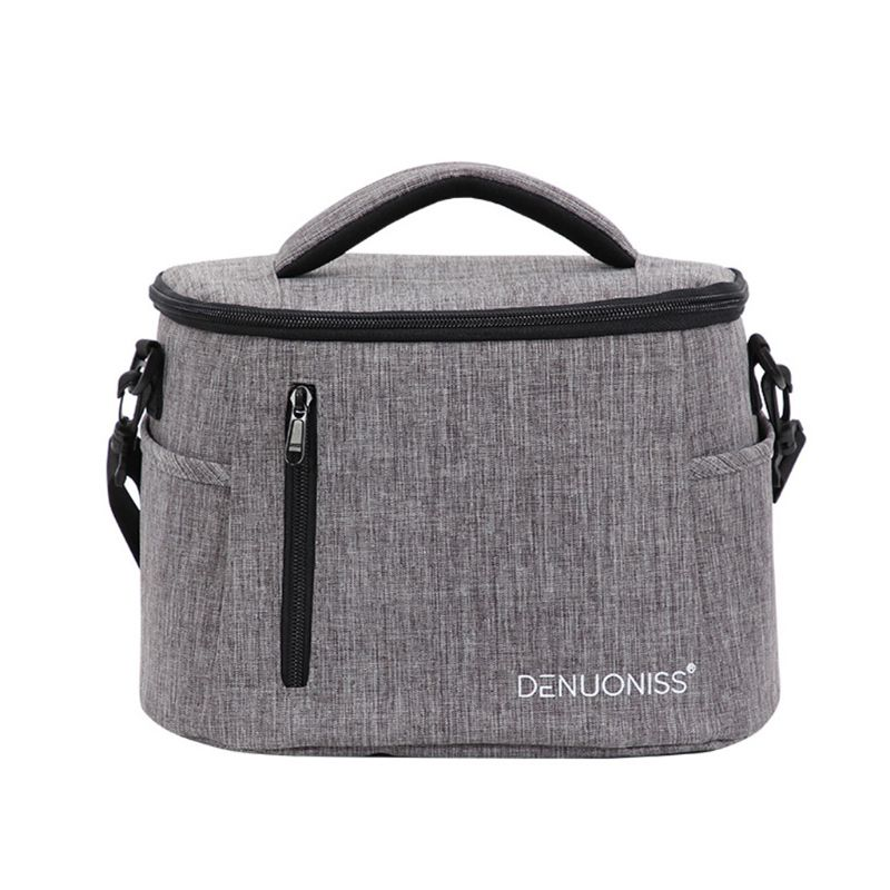 High Quality New Portable Thermal Insulated Lunch Box Food Storage Shoulder Bag Picnic Pouch