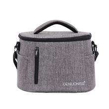 High Quality New Portable Thermal Insulated Lunch Box Food Storage Lunch Shoulder Bag Picnic Pouch portable rattan print handbag lunch bag office lunch fruit pouch bag lunch handbag picnic insulated food