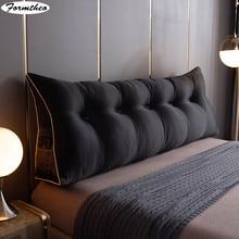 FORMTHEO – grand coussin en soie, oreiller Long, appui-tête de lit, Tatami