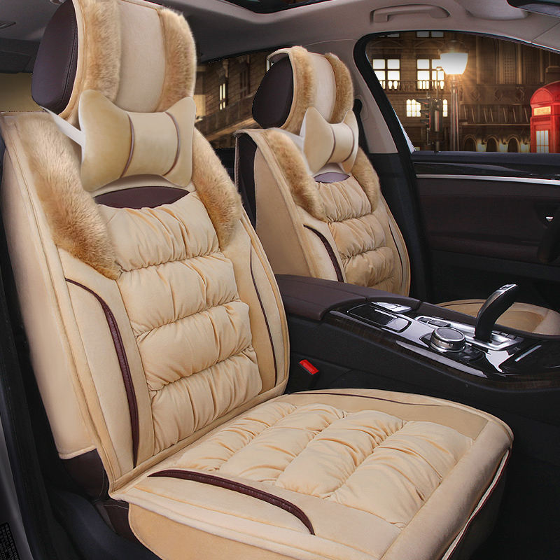 Housse de siège de voiture chaude hiver coussin Auto sièges couvre pour mercedes benz classe c w202 t202 w203 t203 w204 w205 c200 glc 300