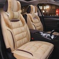 Warm Car Seat Cover Winter Cushion Auto Seats Covers for alfa romeo 156 giulietta audi a3 8l 8p 8v sportback a4 b5 b6 b7 avant