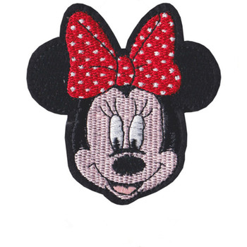 Disney Mickey Minnie Cartoon Iron on patch Embroidered clothes patches For clothing Kid Umbreon Cloth Stickers Garment Appliques