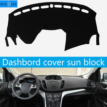 цена на For Ford Kuga Escape 2013 2014 2015 2016 2017 2018 Dashboard Cover Mat Pad Dash Sun Shade Instrument Carpet Car Accessories LHD