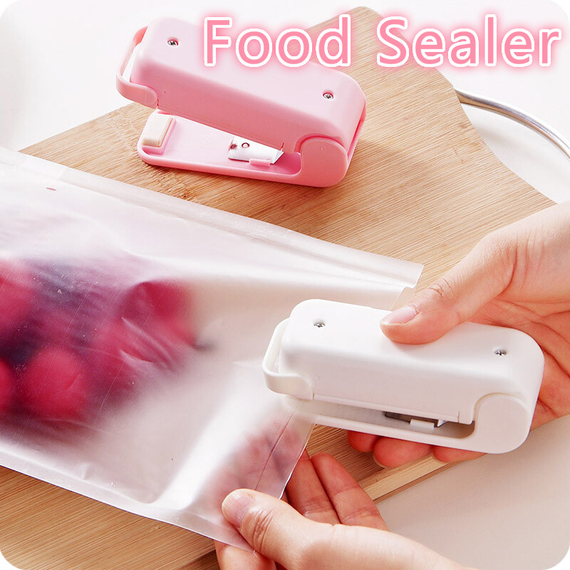 Sealer Sealing-Machine-Sealer Gadgets Poly-Bag Kitchen-Accessories Heat Plastic Home-Package