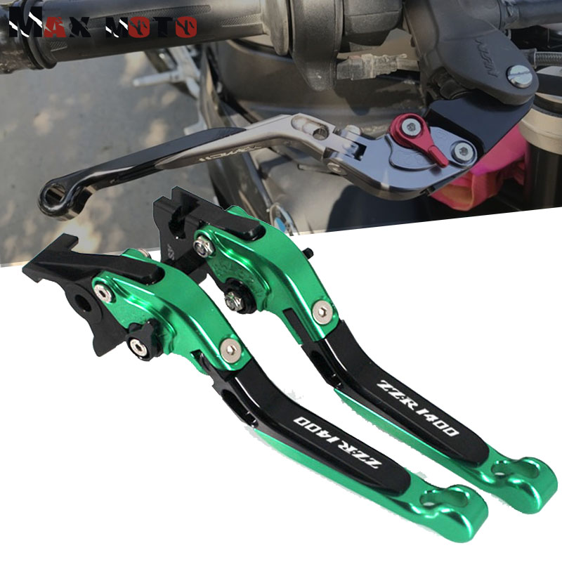 Adjustable Folding Extending Brake Clutch Levers For KAWASAKI ZZR1400 2006-2016