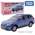 Набор моделей Takara Tomy Tomica No.115 Subaru Forester 1/65, литой миниатюрный автомобиль, Популярная детская смешная Волшебная кукла, форма
