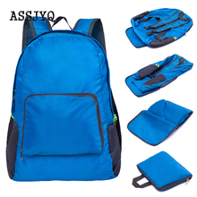 Hot Unisex Folding Backpack Outdoor Travel Waterproof Foldable Backpacks Hiking Camping Bag Portable Daypack