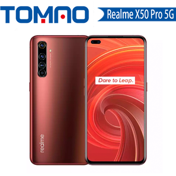 Original New Realme X50 Pro 5G SmartPhone Snapdragon 865 12GB RAM 256GB ROM 90Hz SuperAmoled Screen 65W Fast Charger googleplay 1
