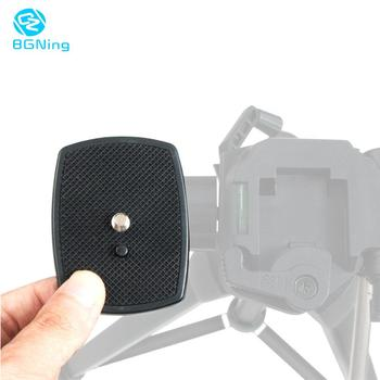DSLR Camera ABS Adapter Mount Tripod Ball Head Quick Release Plate For vct668 st666 690 Stabilizer Tripod  Ball Head Platform bgning quick release plate pu40 pu50 pu60 pu70 tripod monopod ball head for canon nikon dslr camera benro mefoto tripod base