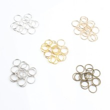 3% 2F4% 2F5% 2F6% 2F7% 2F8% 2F10% 2F12mm +200pcs% 2Flot Jump Ring Round Split Ring Connectors For Diy Accessories Jewelry Finding Making Supplies