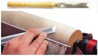 New 1Pcs Woodworking lathe elliptical oblique knife Rotary Wood Turning Tool