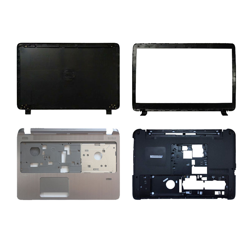 Laptop LCD TOP Cover For HP Probook 450 455 G2 LCD Front Bezel/Palmrest Upper Without Touchpad/Bottom Case Cover 791689-001
