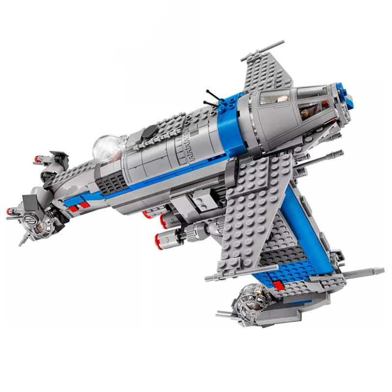 Bela 10914 810pcs Resistance Bomber Building Blocks Bricks Kids Toys Gift Compatible With Star Wars <font><b>75188</b></font> image