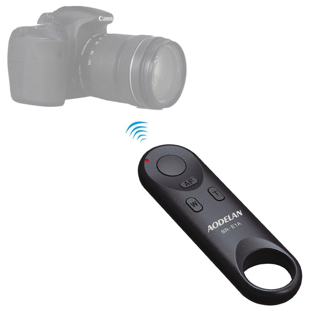 AODELAN Wireless Remote Control BR-E1A For Canon EOR RP, EOS R, M50, 6D Mark II, 77D, 800D, 200D, EOS Rebel SL2, Rebel T7i