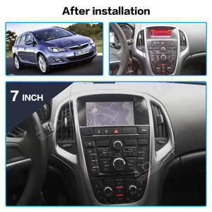 Image 2 - For Opel Astra J 2010 2013 Car Multimedia DVD Radio Player Stereo Android Vertical Audio Recorder GPS Navigation Head Unit 2 Din