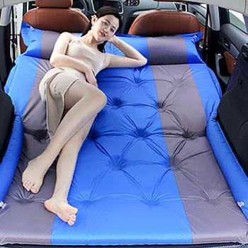 Auto wielofunkcyjny automatyczny nadmuchiwany materac SUV specjalny materac powietrzny łóżko w kształcie samochodu dorosłe materace do spania łóżko samochodowe tanie i dobre opinie youe shone CN (pochodzenie) Flokowana tkanina 180cm*130cm Pongee