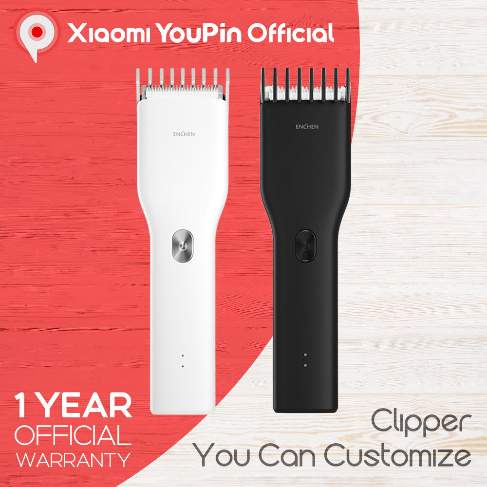 Youpin ENCHEN Wireless Hair Clipper Trimmer rechargeable Cutting Machine Beard Electric Man Kid Ceramic Cutter TypeC QuickCharge|Hair Clippers| - AliExpress