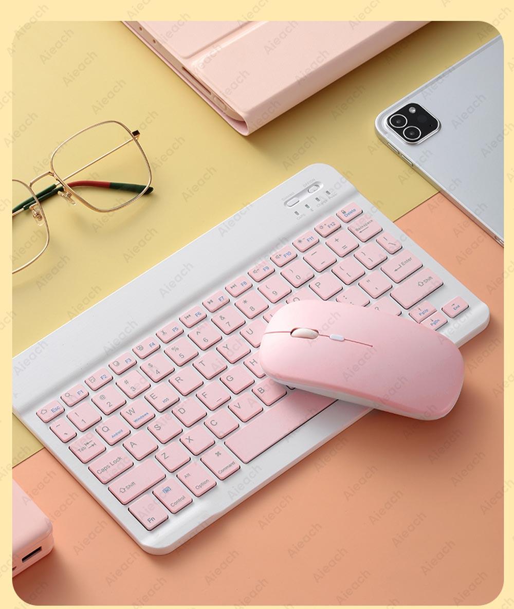 Teclado bluetooth e mouse para apple teclado