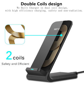 Image 4 - Qi Wireless Charger For BLACKVIEW BV9500 PLUS Fast Wireless Charging Dock USB Charger Phone Accessories