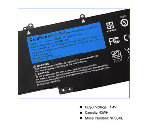 Image 5 - KingSener ноутбука Батарея NP03XL для струйного принтера HP Pavilion X360 13 A010DX TPN Q146 TPN Q147 TPN Q148 HSTNN LB6L 760944 421 15 U010DX