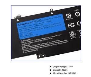 Image 5 - KingSener بطارية كمبيوتر محمول NP03XL ل HP جناح X360 13 A010DX TPN Q146 TPN Q147 TPN Q148 HSTNN LB6L 760944 421 15 U010DX