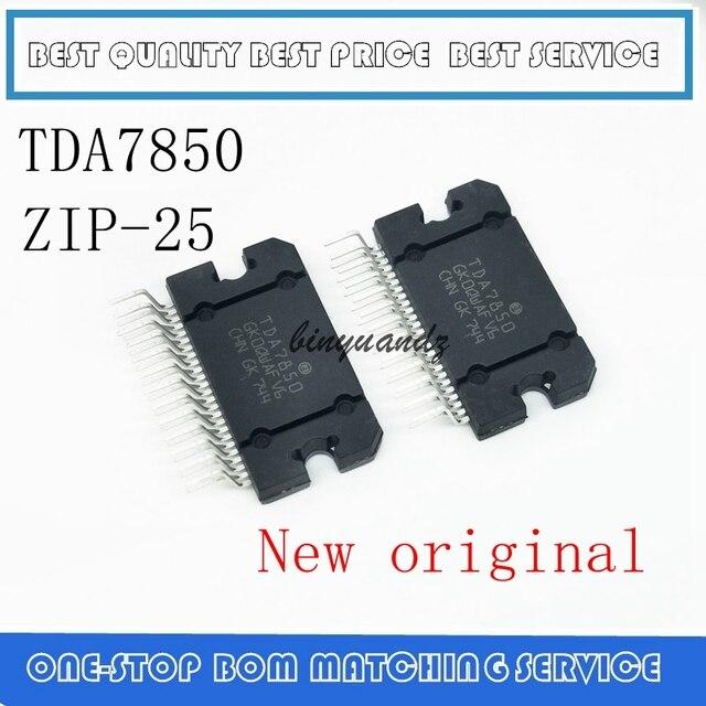 2 個 5 個 10 個 TDA7850 ジップ TDA7850A ジップ 25 新とオリジナル IC リニア オーディオアンプ /パワーアンプ IC/4*50 ワットチップ