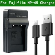 LANFULANG Battery Charger NP 45 NP 45A NP 45B for Fujifilm FinePix JV200 JV160 JV205 JV250 JV255 JX200 JX210 JX205 JX250