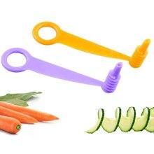 1 pçs casa cozinha gadget vegetal frutas slicer multi-funcional vegetal frutas slicer manual espiral parafuso slicer ferramentas de cozinha