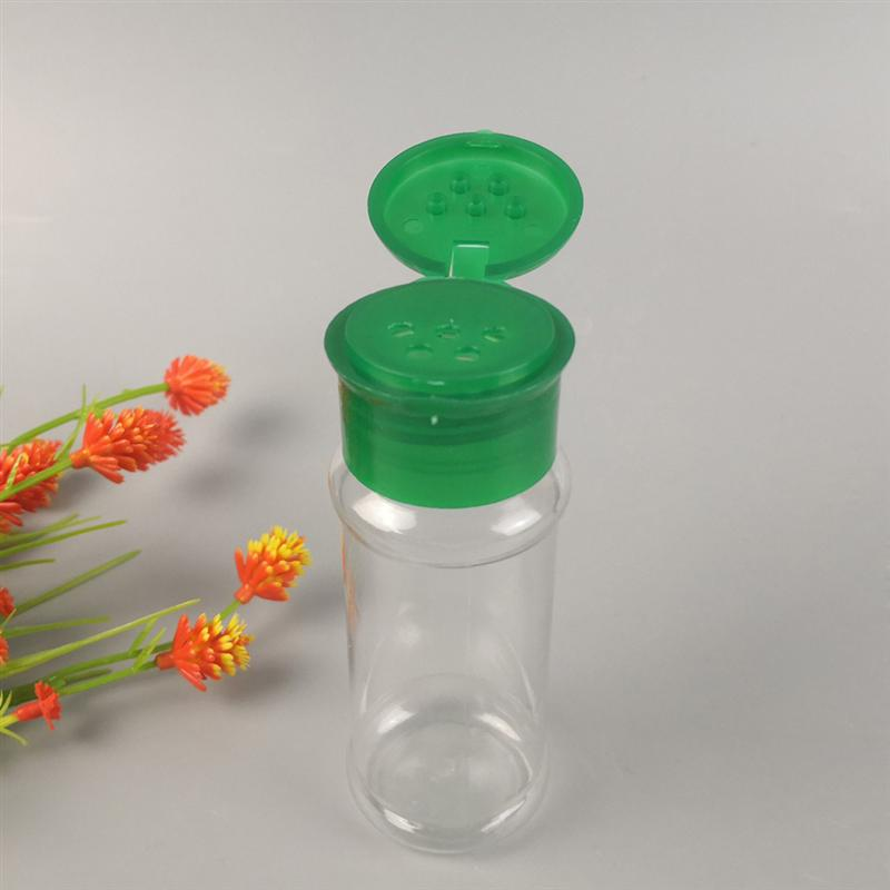 Plastic Seasoning Spice Shaker Bottle Jar BBQ Salt Pepper Condiment Box Kitchen