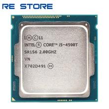 Verwendet Intel Core i5 4590T 2,0 GHz Quad Core 6M 35W LGA 1150 Prozessor CPU