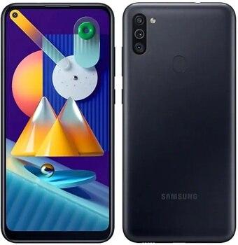 Перейти на Алиэкспресс и купить Samsung Galaxy M11 2020 32 Гб Две Sim-карты черный