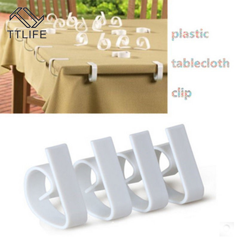 Plastic Tablecloth Tables Useful Clips Holder Cloth Clamps Party Picnic Wedding Prom Multi-function Tablecloth Clip Kitchen Tool