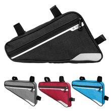 Фотосумка для горного велосипеда треугольная велосипедная сумка
