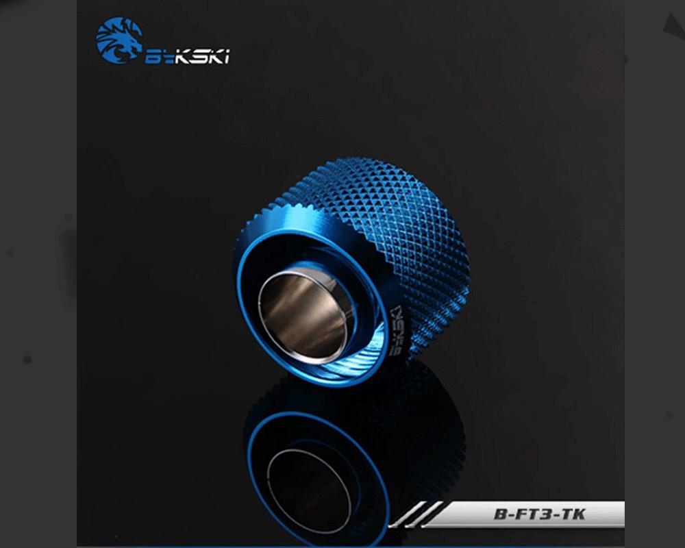 "Bykski B-FT3-TK, 3/8""ID*5/8""OD 10x16mm Soft Tube Fittings, G1/4"" Fittings For Soft Tubes"