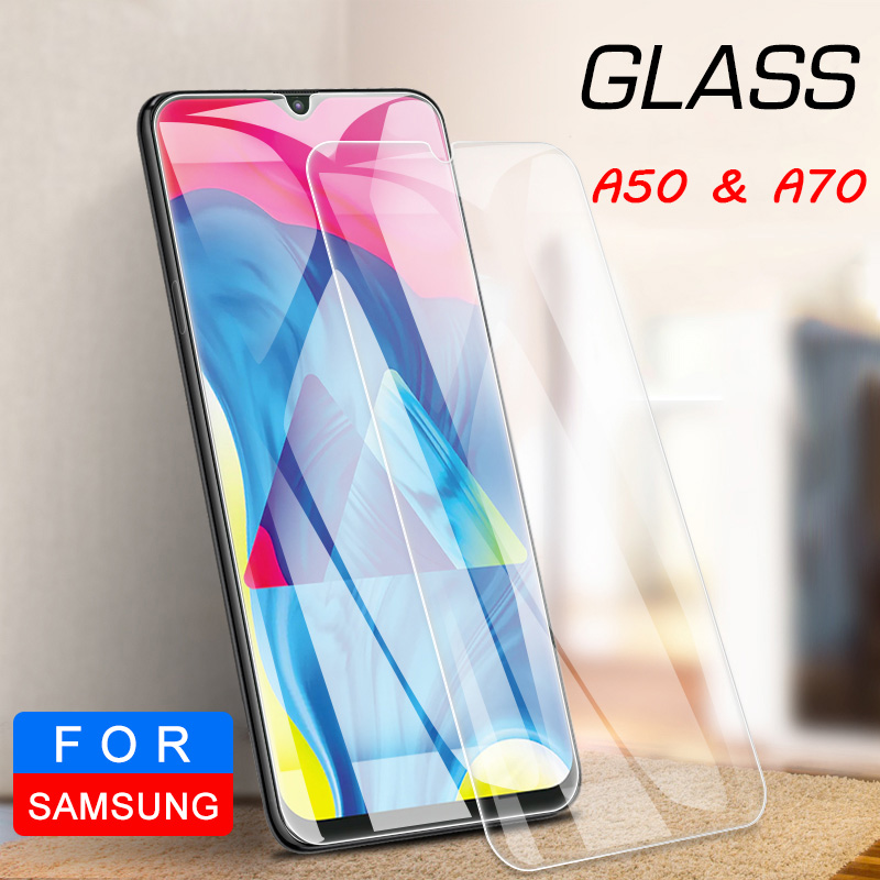 Tempered Glass For Samsung A20 A10 A30 A40 Screen Protector For Samsung Galaxy A50 A60 A70 A80 A90 Protective Glass On M20 M30