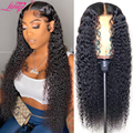 Бразильские кудрявые человеческие волосы 13x4, парик фронта шнурка короткий парик фронта шнурка Боба человеческие волосы парики для женщин ...