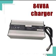 84V 8A литиевая батарея интеллектуальное зарядное устройство для 72V 20S Электрический велосипед электрический мотоцикл зарядное устройство Li Ion 672 ватт hig