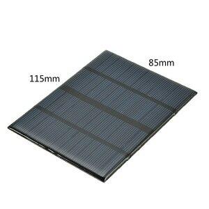 Image 3 - 12V 1.5W Mini panneau solaire Standard époxy polycristallin silicium bricolage batterie Module de Charge de cellule solaire panneau de Charge