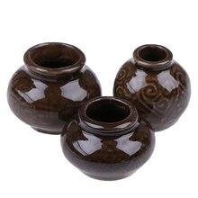 3 шт./компл. кукла украшение для дома древних Керамика керамическая модель ретро кукольный домик украшения Аксессуары