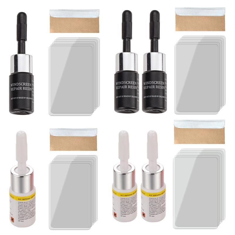 VODOOL Car Styling Windshield Window Glass Scratch Crack Restore Tool Windscreen DIY Repair Resin Kit Window Screen Polishing