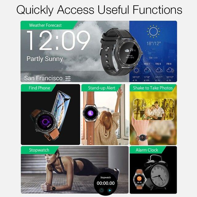 BlitzWolf BW-HL3 Smart Watch Men Women's Smartwatches Heart Rate Blood Pressure bluetooth Fitness Wristwatch Sport Smartwatch 2